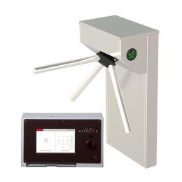Stacionaraus alkotesterio Alcodetector ID ir turniketo komplektas